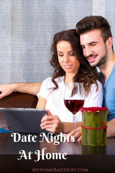 Date Nights Without Leaving the House | Valentine's Day Date Ideas | Romantic Date Nights | Date Nights | #datenight | #marriage via @myhomebasedlife