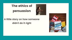 """Persuasion has become a bit of a """"""""dirty word"""". People would tie it to manipulation, or brain influencing. Do You Need, Do It Right, Leadership, The Creator, How To Become, Words, Horse"""