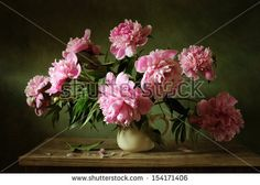 Find Pink Peonies Still Life stock images in HD and millions of other royalty-free stock photos, illustrations and vectors in the Shutterstock collection. Thousands of new, high-quality pictures added every day. Pink Peonies, Pink Flowers, Peony, Free Pictures, Free Images, Still Life Images, Still Life Flowers, Sunflower Bouquets, Still Life Photography