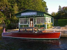 Gadfly, a boat from the Antique Boat Museum in Clayton, NY, 1000 Islands  Again, check out Ian Coristine Photography