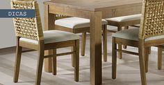Como escolher a cadeira perfeita para sala de jantar!!