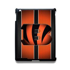 Cincinnati Bengals TATUM-2613 Apple Phonecase Cover For Ipad 2/3/4, Ipad Mini 2/3/4, Ipad Air, Ipad Air 2