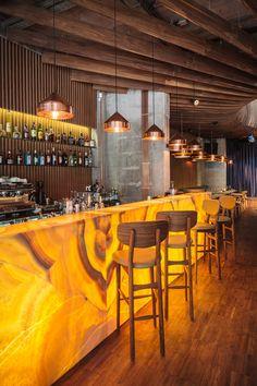 Restaurant Studio Hermes in Bucharest by Corvin Cristian