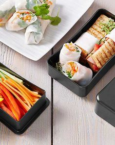 Bento Lunch Box, Black/Red elastic - Brands For Less Bento Box Lunch, Recipies, Snacks, Sushi, Kitchen, Food, Decorations, Accessories, Recipes