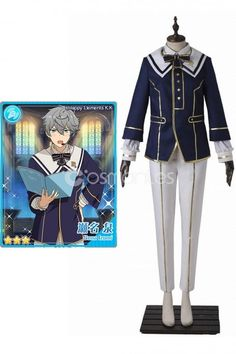 Anime Ensemble Stars Cosplay Sena Izumi Costume Men Comic Con Festival Outfit