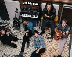 One Direction - Studio - Official Mini Poster. Official Merchandise. FREE SHIPPING