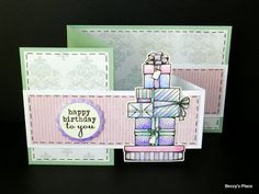 My friend, Doreen, suggested I write a tutorial for creating a double Z fold card after finding a beautiful example online. They are one of...
