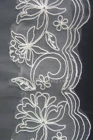 Resultado de imagem para como bordar no tule