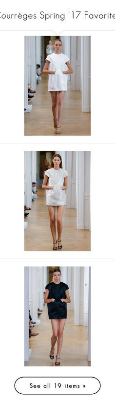 """""""Courrèges Spring '17 Favorites"""" by amberelb ❤ liked on Polyvore"""
