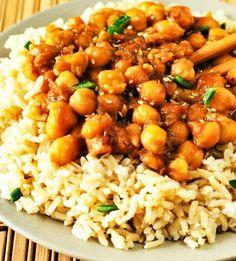 General Tso's Chickpeas (Vegan,Gluten-Free)