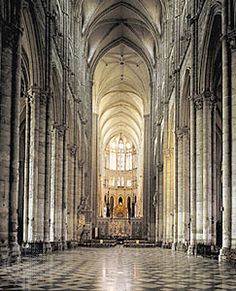 Amiens Cathedral in France; it is in the Gothic style and cleaned up very well. Let's go!
