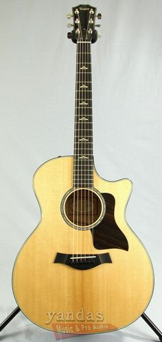 Taylor 614CE Acoustic Electric Guitar | Brown Sugar Stain