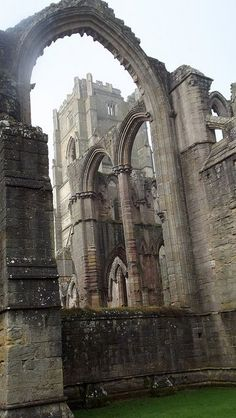 Huby's Tower at Fountains Abbey near Ripon, North Yorkshire, England