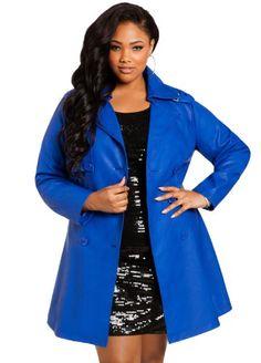 Ashley Stewart Women's Plus Size Faux Leather Trench Coat Blue Crush 18/20 Ashley Stewart,http://www.amazon.com/dp/B00GP3U8EY/ref=cm_sw_r_pi_dp_N0Lbtb098QCZWMNQ