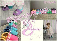 """Engelinchen: Freebook: Krabbelpuschen / Lederpuschen """"Karli"""" Gr. 18 - 37"""