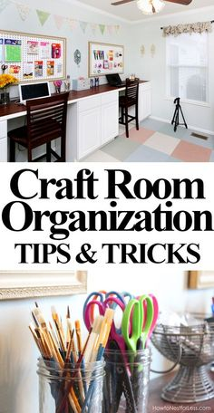 ROOM ORGANIZATION: take a peek inside the drawer and cabinets to see how her craft room stays organized!CRAFT ROOM ORGANIZATION: take a peek inside the drawer and cabinets to see how her craft room stays organized!