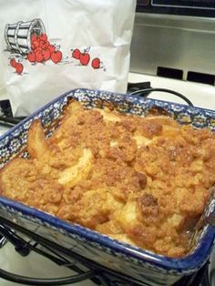 Weight Watchers Apple Crisp! my love will be excited about this :) More More