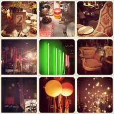 highlights and decor ideas from The Cream Event in LA; http://su.pr/1AzDBI