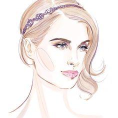 #fashion #illustration #fashionillustration #girl #jewelry #fashionart…