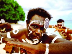Solomon Island men