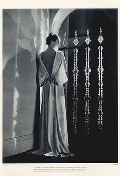 Chanel (Couture) 1935 Evening Gown, Photo Lipnitsky | Hprints.com