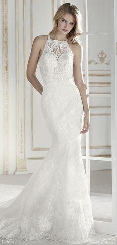 ab2ce8b729e La Sposa 2018 romantic mermaid wedding dress Wedding Attire