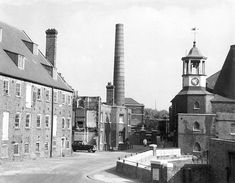 Three Mills, Bromley-by-Bow, circa 1969