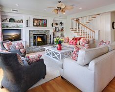 #NewHomesCentralValley colorful living room design