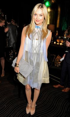 Laura Whitmore at the EE and Esquire BAFTA party in London.