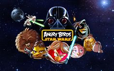 Now Angry Birds Star Wars for Blackberry 10 and better OS, comes with some new features. Angry Birds Star Wars offers you Explore more than 100 levels in different locations like Tatooine and the Pig Star. Angry Birds Star Wars, Application Mobile, Star Wars Wallpaper, Hd Wallpaper, Wallpapers, Star Wars Birthday, Star Wars Characters, Movie Characters, Chewbacca
