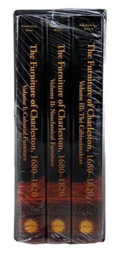 1820,] Three Volumes Rauschenberg and Bivins, Winston-Salem, MESDA, 2003, slip case, 11-1/4 x 9 in.. Condition: as-new condition in slip case with original shri