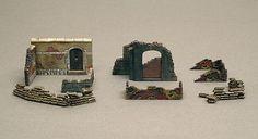6090 Italeri Walls And Ruins Ii 1/72 Diorama Accessory  Plastic Kit Scale 1/72