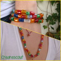 recycled plastic beads tutorial