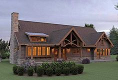 Ranch homes ranch home plans and home plans on pinterest for Mountain vacation house plans