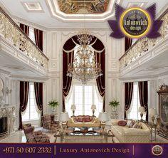 ~ Luxury Interior Design Living Room ~ antonovich-design.ae