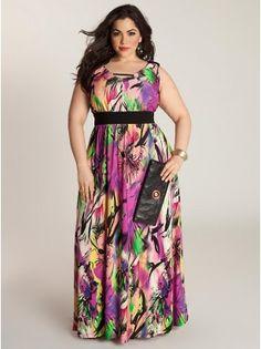 Clementia Plus Size Dress - Plus Size Dresses by IGIGI