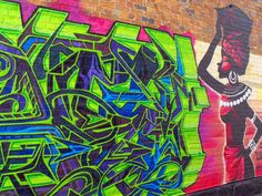 Fitzroy Laneways Graffiti & Street Art