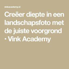 Creëer diepte in een landschapsfoto met de juiste voorgrond • Vink Academy