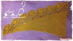 Dekoration – Hem elden hem dilden – Join the world of pin Crochet Shawl, Crochet Crafts, Bandana, Crochet Bikini, Eminem, Diy And Crafts, Blanket, Forests, Cowl
