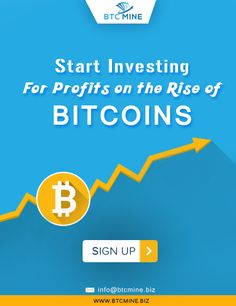 Start investing in bitcoins