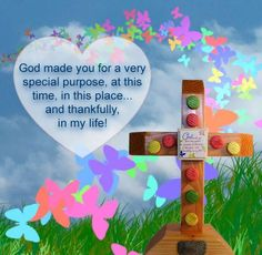 Here's a wonderful, vibrant cross for all those angels whom God has placed in your life. Let them know how thankful you are for them or just to celebrate their birthday in a special way