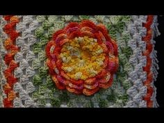 Passo a passo Mega Rosa em Crochê - YouTube