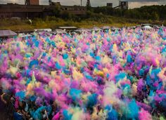 Festivalul de culori - un eveniment care merită trecut în calendar - galerie foto Merida, Holi, Fish, Pisces, Holi Celebration