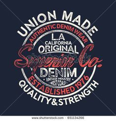 vintage varsity style vector design with grunge effected typo