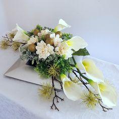 Flower Decorations, Table Decorations, Grave Flowers, Ikebana, Floral Arrangements, Diy And Crafts, Floral Design, Bouquet, Plants