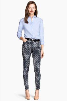 Pantaloni superelasticizzati   H&M