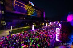 Electric Run Boston ~ How we spent our 16th Anniversary