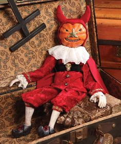 Bethany Lowe Twisted Jack Marionette Doll Halloween Display RC1950 #BethanyLowe