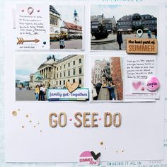 GO·SEE·DO (Scrapaddictes DT) use for a NYC layout