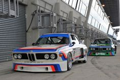 life-and-everything: Peas in a pod BMW 3.0 CSLs at the Le Mans Classic